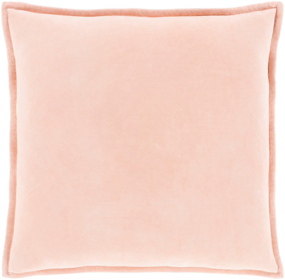 Cotton Velvet Pillow Kit - Peach - Poly - CV029 - ReeceFurniture.com