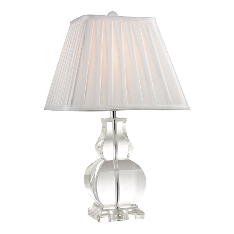 D2487 downtown solid clear crystal table lamp free shipping table lamp dimond