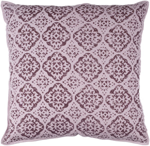 D'orsay Pillow Cover - Mauve, Dark Purple - DOR002