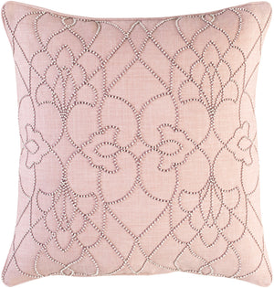 Dotted Pirouette Pillow Kit - Blush, Mauve, White - Poly - DP003