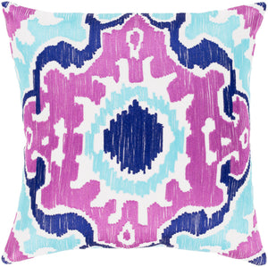 Effulgence Pillow Kit - Bright Purple, Violet, Aqua, White - Poly - EFF002
