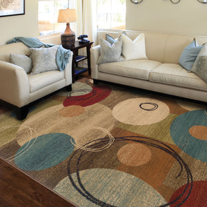 2279A Emerson Indoor Area Rug Gold/Brown