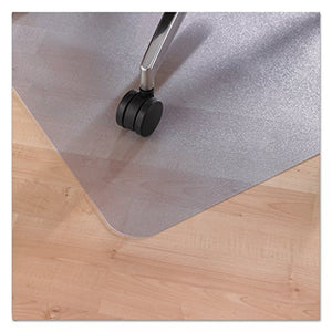 "EcoTex 100% Post Consumer Recycled Tinted Chair mat For Hard Floors , Rectangular with Front Lipped Area for Under Desk Protection (36"" x 48""), Floor Mats, FloorTexLLC, - ReeceFurniture.com - Free Local Pick Ups: Frankenmuth, MI, Indianapolis, IN, Chicago Ridge, IL, and Detroit, MI"