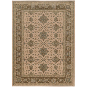 1542M Foundry Indoor Area Rug Beige/ Sand
