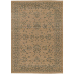 4924W Foundry Indoor Area Rug Sand/ Grey