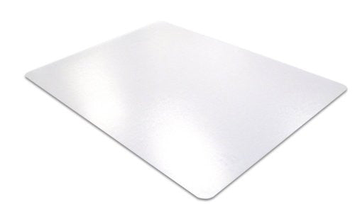 "Phthalate Free PVC Rectangular Chair mat for low pile carpets 1/4"" or less (36"" x 48"")"