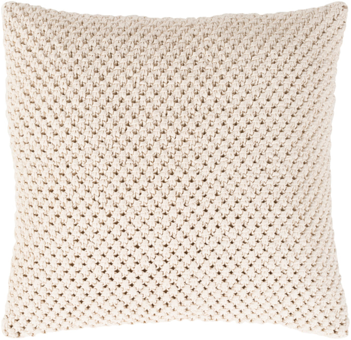 Godavari Pillow Kit - Cream - Poly - GDA003
