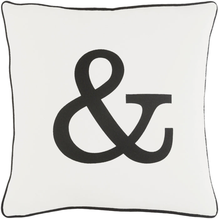 Glyph Pillow Kit - Black, White - Down - GLYP7069