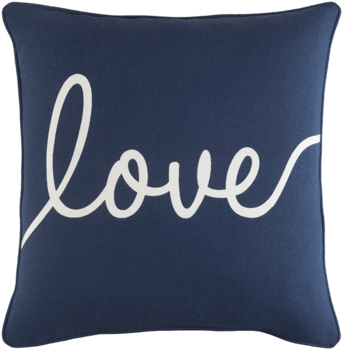 Glyph Pillow Kit - Navy, White - Down - GLYP7099