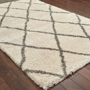 090W9 Henderson Indoor Area Rug Ivory/ Grey