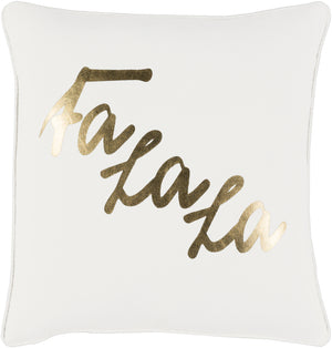 Holiday Pillow Kit - White, Metallic - Gold - Down - HOLI7253