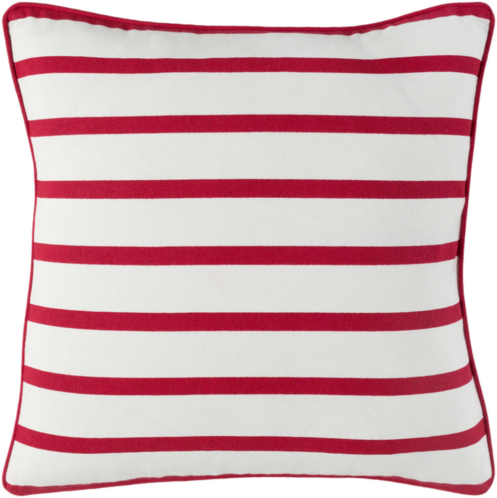 Holiday Pillow Kit - Bright Red, White - Poly - HOLI7265