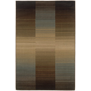 1991D Huntington Indoor Area Rug Brown/Blue - ReeceFurniture.com
