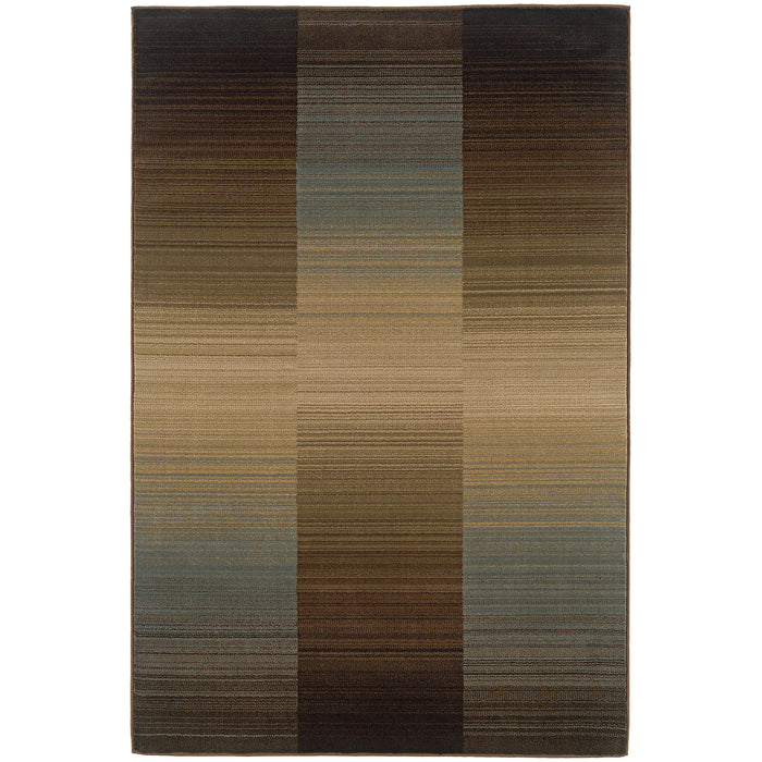 1991D Huntington Indoor Area Rug Brown/Blue