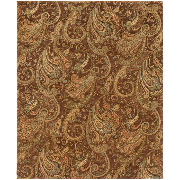 19102 Huntley Indoor Area Rug Brown/Gold