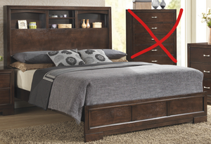 C4233A Walnut Bedroom, Bedroom Sets, American Imports, - ReeceFurniture.com - Free Local Pick Up: Frankenmuth, MI