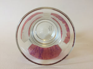 910631 Crystal With 3 Rectangle Cranberry Flashed Panels, 1 Plain, 2 With Engraved Landmarks, Bohemian Glassware, Antique, - ReeceFurniture.com - Free Local Pick Ups: Frankenmuth, MI, Indianapolis, IN, Chicago Ridge, IL, and Detroit, MI