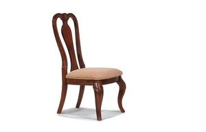 9180 Evolution - Queen Anne Side Chair (2/CN) - ReeceFurniture.com