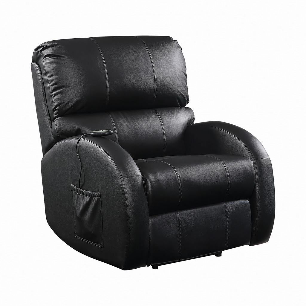 G600416 - Upholstered Power Lift Recliner - Black