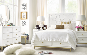 7810 Chelsea Panel Bed with Storage Footboard by Rachael Ray