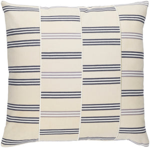 Lina Pillow Cover - Beige, Charcoal, Cream, Medium Gray - INA002