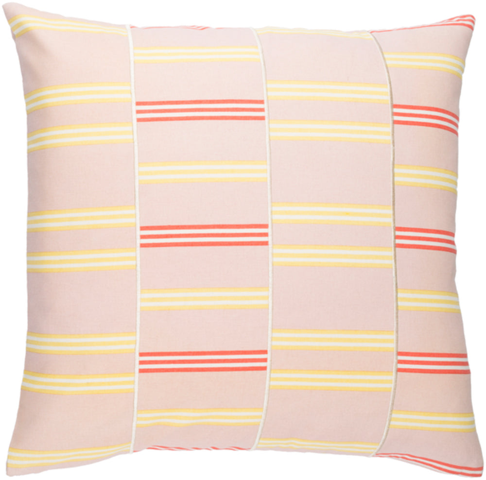 Lina Pillow Kit - Pale Pink, Butter, Cream, Bright Orange - Poly - INA004