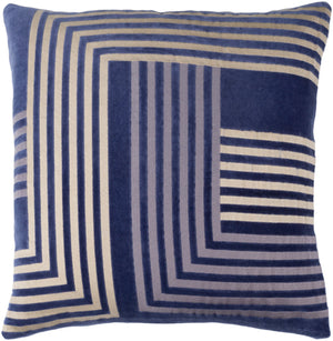 Intermezzo Pillow Kit - Navy, Beige, Medium Gray - Poly - INE003