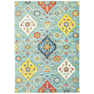 4929L Joli Indoor Area Rug Blue/ Multi