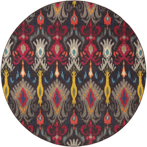 502X5 Kaleidoscope Indoor Area Rug Grey/Multi