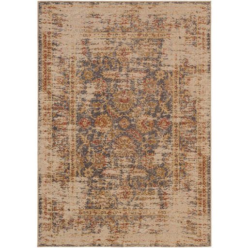 "Surya Floor Coverings - KON1002 Konya 5'2"" x 7'6"" Area Rug"