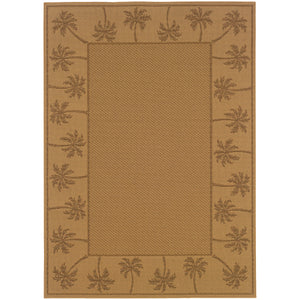 606D7 Lanai Indoor/Outdoor Rug Beige/Tan