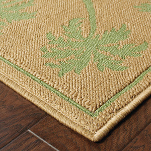 606G6 Lanai Indoor/Outdoor Rug Beige/Green