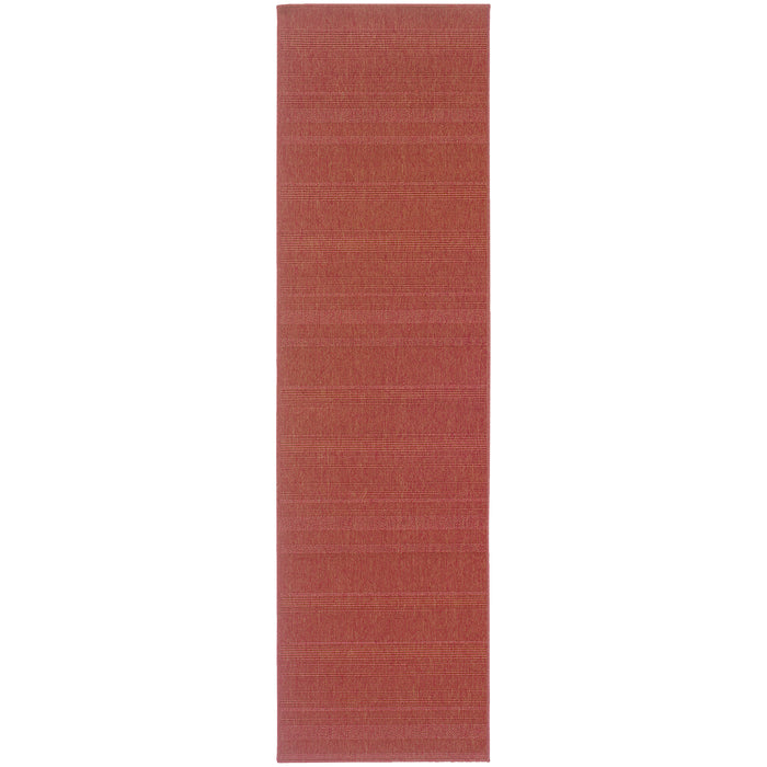 781C8 Lanai Indoor/Outdoor Rug Red