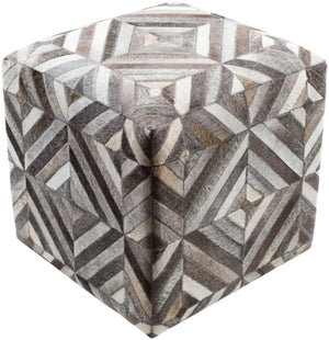 Lycaon 18 x 18 x 18 (inches) Pouf