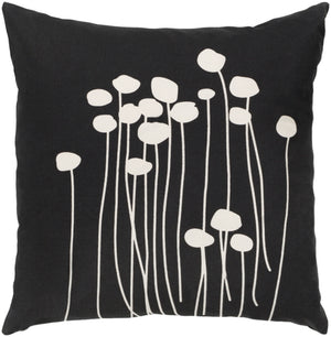 Abo Pillow Kit - Black, White - Poly - LJA006
