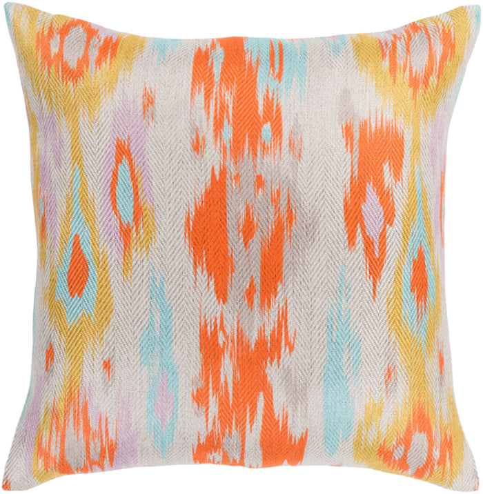 Liberty Pillow Kit - Bright Orange, Khaki, Light Gray, Aqua, Saffron, Lilac, Taupe - Poly - LTY001