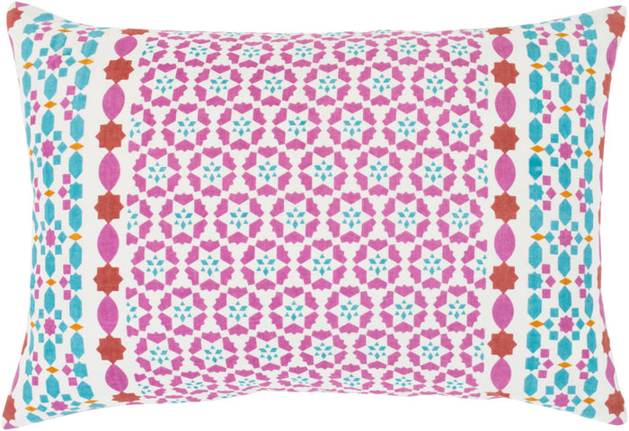 Lucent Pillow Kit - Bright Pink, Teal, Bright Yellow, Mint, Burnt Orange, White - Poly - LUE002