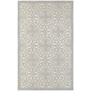 81206 Manor Indoor Area Rug Stone/ Grey