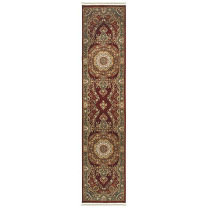 113R2 Masterpiece Indoor Area Rug Red/ Multi