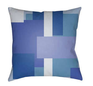 Moderne Pillow Cover - Sky Blue, Pale Blue, Bright Blue - MD072