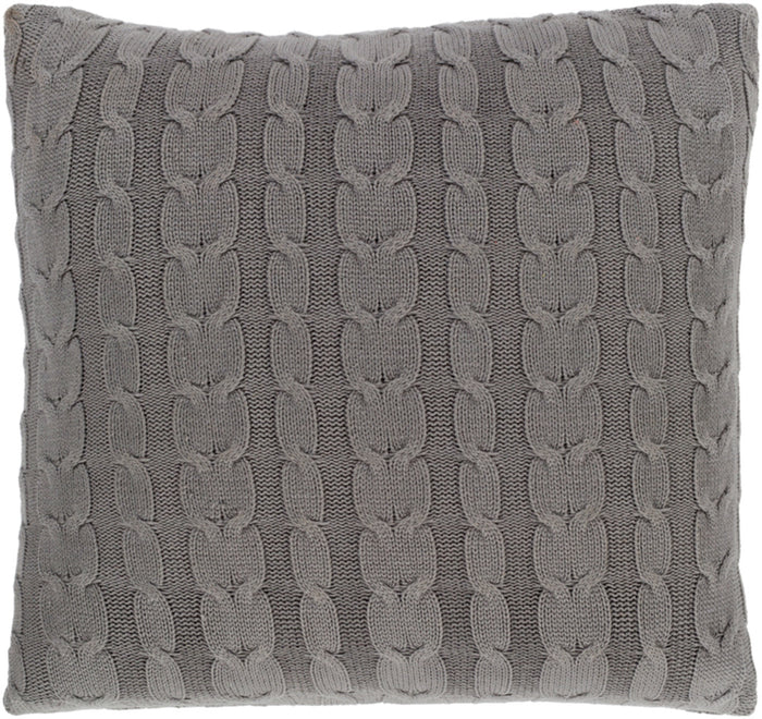 Milton Pillow Kit - Medium Gray - Poly - MTN002