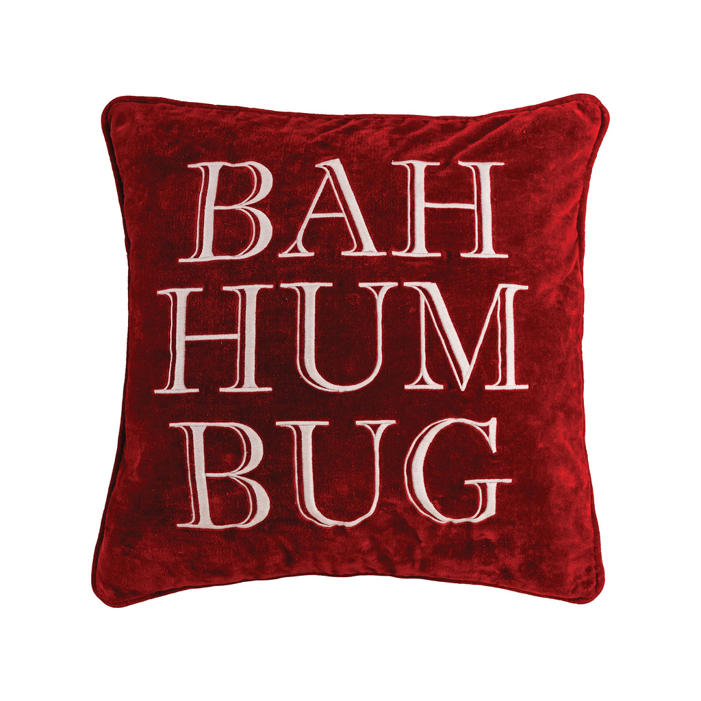 Bah Hum Bug - Throw Pillow