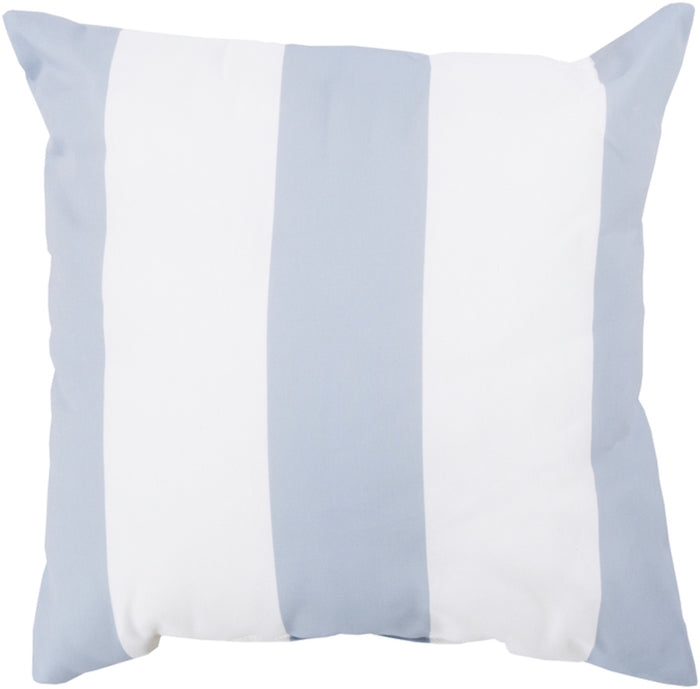 Rain Pillow Cover - Light Gray, Ivory - RG161