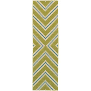 4589M Riviera Indoor/Outdoor Rug Green/Ivory