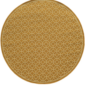 4771H Riviera Indoor/Outdoor Rug Gold/Ivory