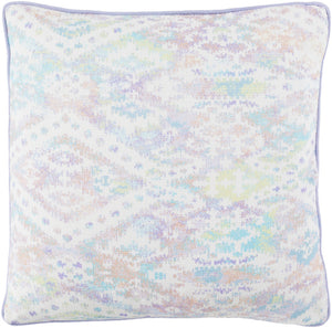 Roxana Pillow Kit - Ivory, Lavender, Bright Purple, Camel, Sky Blue, Lime - Down - RXA003