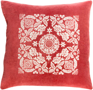 Smithsonian Pillow Kit - Garnet, Cream - Down - SMI004
