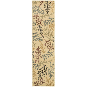 5411C Stratton Indoor Area Rug Ivory/Multi