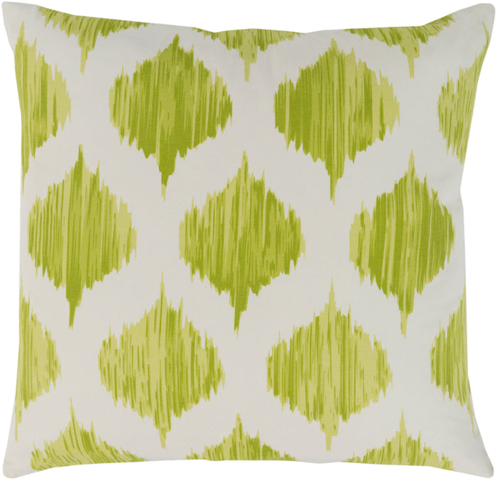 Ogee Pillow Kit - Lime, Cream - Down - SY047