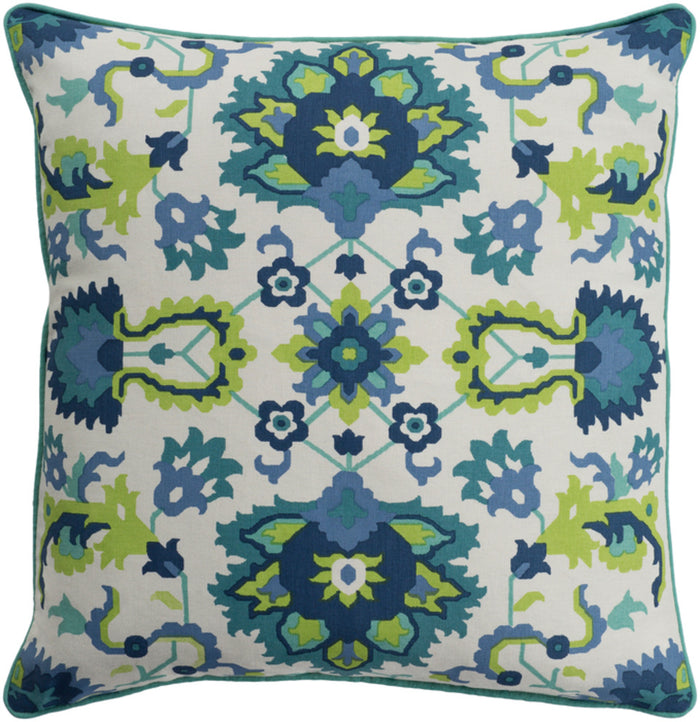 Technicolor    Pillow Kit - Teal, Mint, Ivory, Lime, Navy, Denim - Poly - TEC005
